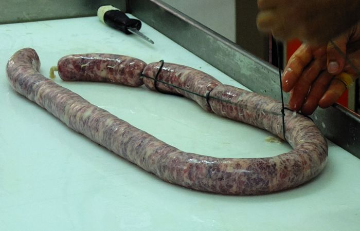 Sicilian black pig dried sausage 250gr